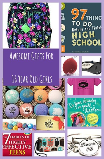Best Gift Ideas for 16 Year Old Girls