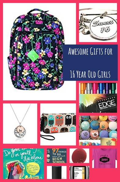 Awesome Gifts for 16 Year Old Girls